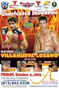 Matthew Villanueva vs Daniel Lozano - full fight Video pelea 2013
