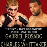 Video - Charles Whittaker vs Gabriel Rosado - full fight video IBF