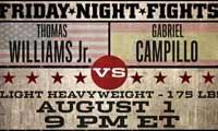 Thomas Williams Jr vs Gabriel Campillo - full fight Video 2014