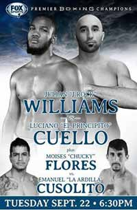 Julian Williams vs Luciano Cuello - full fight Video 2015 pelea