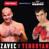 Jan Zaveck vs Sasha Yengoyan - full fight Video 2015 result