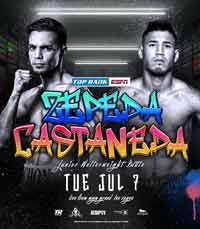 Andy Vences vs Luis Alberto Lopez Vargas fight video 2020