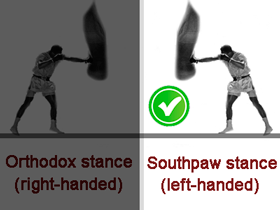 Stance southpaw