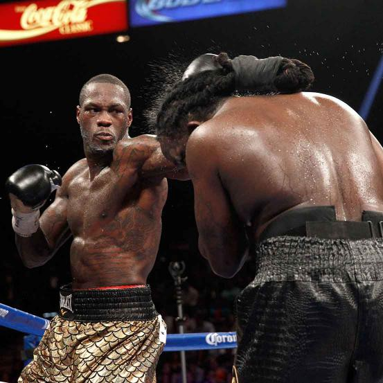 Deontay Wilder Vs Bermane Stiverne 1st Meeting Boxrec