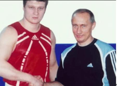 Povetkin with Putin