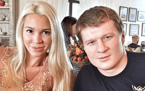 Povetkin Alexander Wife