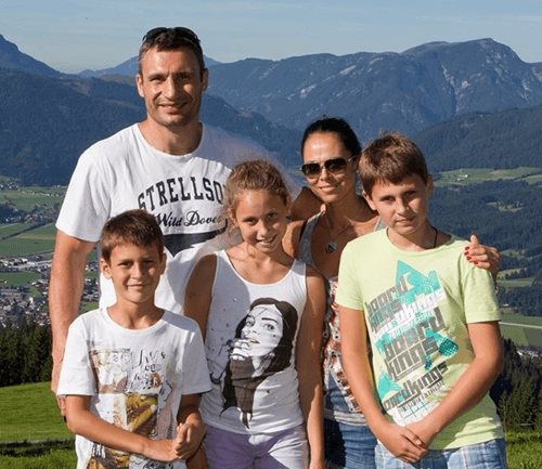 Vitali Klitschko Wife And Family