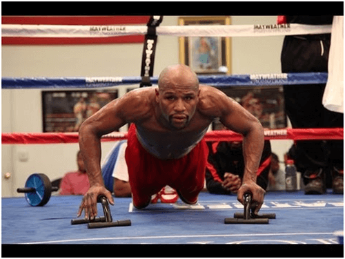 Floyd Mayweather Training