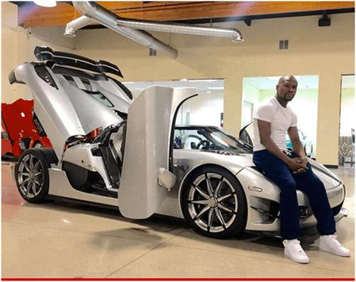 Floyd Mayweather Cars