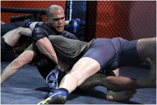 Robbie Lawler Training