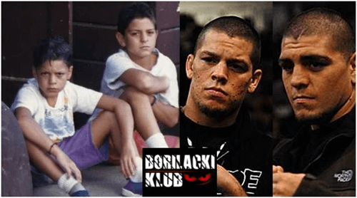 Nate Diaz In Young Age