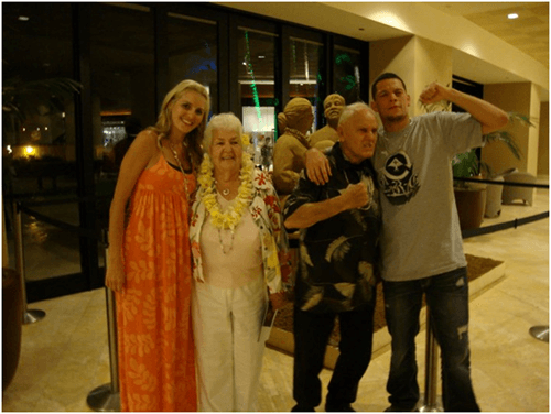 Nate Diaz Wife And Family