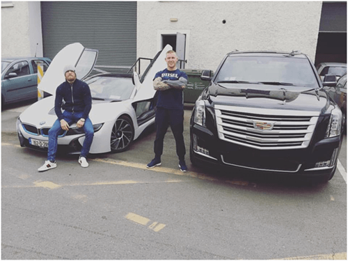 Conor McGregor Cars