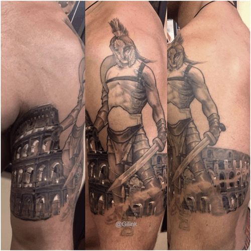Robbie Lawler Tattoos
