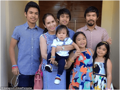 Manny Pacquiao Wife And Family