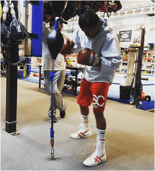 Roman Gonzalez Training