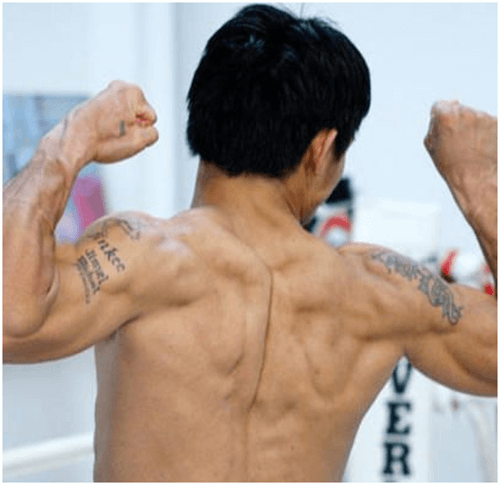 Manny Pacquiao Tattoos