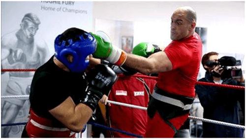 Tyson Fury Training