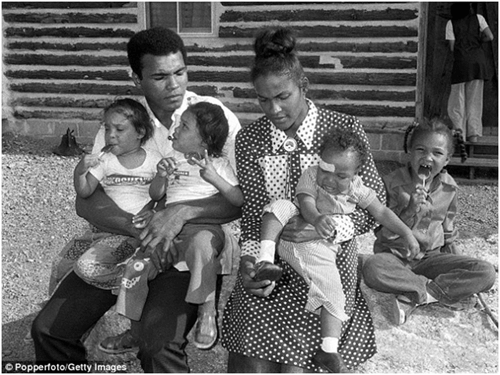 Muhammad Ali Wife And Family