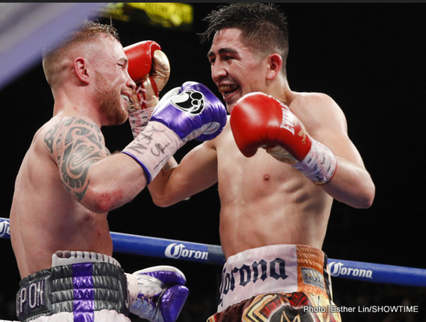 Leo Santa Cruz vs Carl Frampton – Results