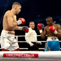 Cherkashyn needed three rounds to defeat Eklund